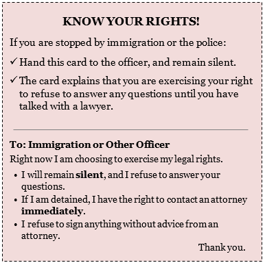 immigration laws wrong or right essay Both sides of the illegal immigration argument – where are you  the situation in terms of right and wrong,  want to share it by creating rigid immigration laws.